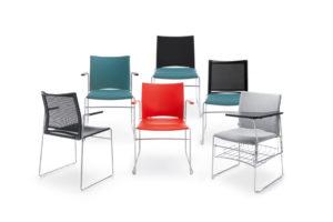 Ariz - krzesła konferencyjne i audytoryjne - Producent: Profim, Dystrybutor: Vipservice, krzesła, siedziska, hokery, konferencje, audytoria, bankiety