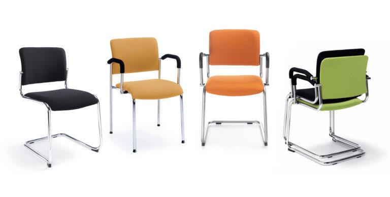 Komo krzesło do sal konferencyjnych i audytoryjnych. Producent: Profim, Dystrybutor: Vipservice