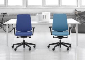 LightUp krzesła fotele obrotowe do biur Producent: Profim Dystrybutor: Vipservice