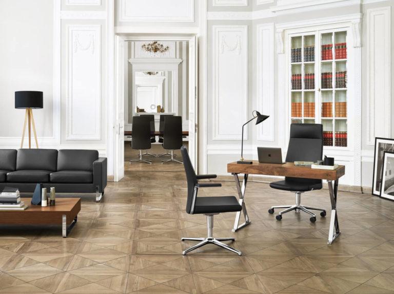 MyTurn fotele gabinetowe, fotele konferencyjne Producent: Profim Dystrybutor: Vipservice