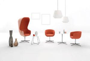 Kolekcja foteli do biur i przestrzeni chillout. Producent: Profim Dystrybutor: Vipservice