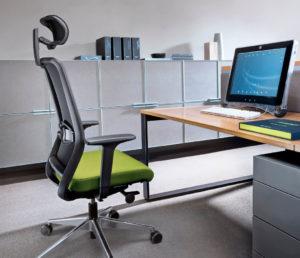 Veris Net ergonomiczny fotel biurowy. Producent: Profim Dystrybutor: Vipservice