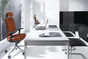 Veris ergonomiczny fotel biurowy. Producent: Profim Dystrybutor: Vipservice