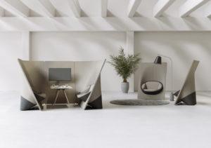 Wyspa nowoczesne sofy i fotele modułowe do przestrzeniu biurowych, holi, lounge, open space, sal konferencyjnych. Producent: Profim Dystrybutor: Vipservice