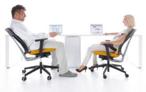 XenonNet kolekcja pracowniczych krzeseł obrotowych i krzeseł konferencyjnych. Producent: Profim Dystrybutor: Vipservice