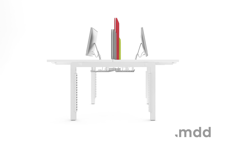Biurko Yan - Producent: MDD, Dystrybutor: Vipservice - nowoczesne i ergonomiczne biurko
