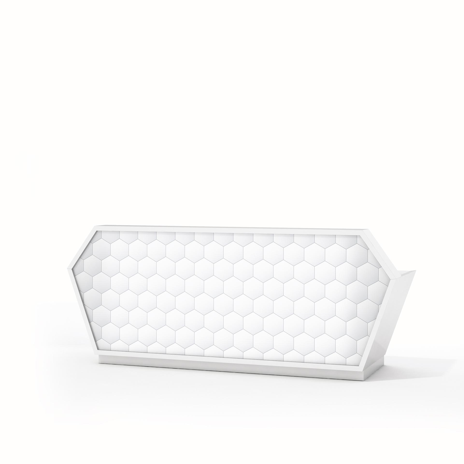 Lada recepcyjna Diamond - Producent: Wuteh, Dystrybutor: Vipservice - designerska lada do przestrzeni recepcyjnej