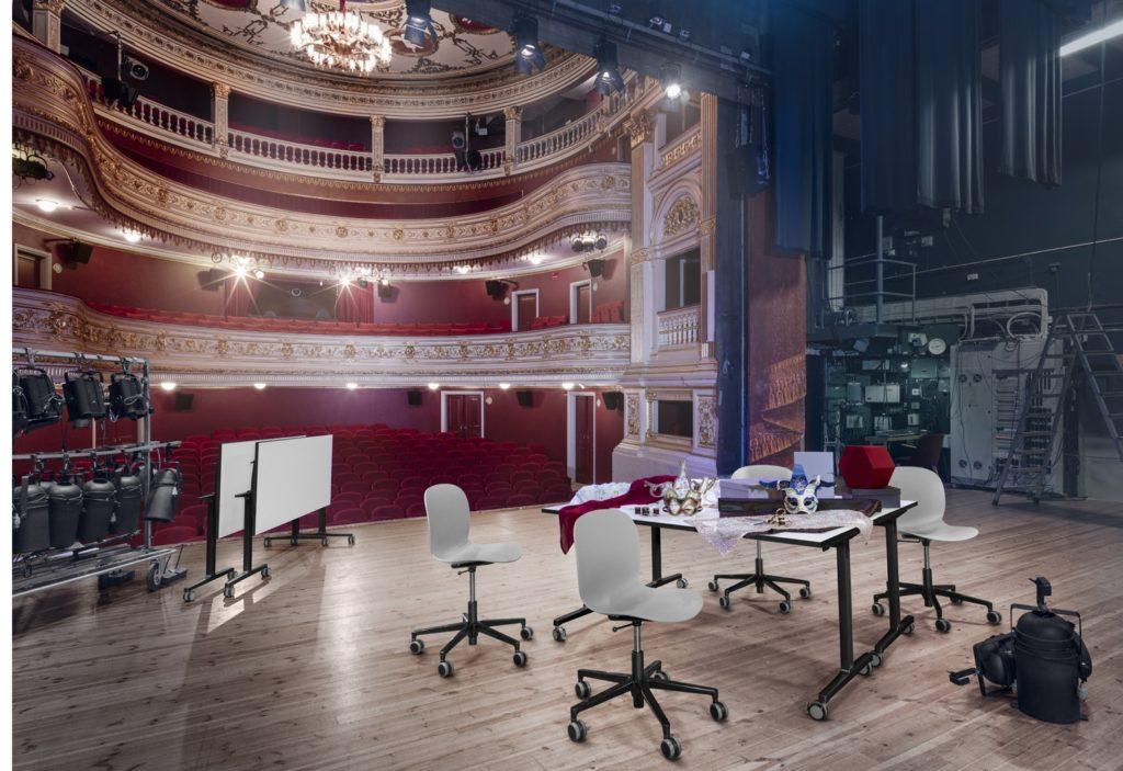 RBM Connect - stoliki do biur i sal konferencyjnych, Producent: Flokk, Dystrybutor: Vipservice