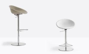 Stołek barowy Gliss, Producent: Pedrali, Dystrybutor: Vipservice - stołek barowy, hoker do restauracji, barów, hoteli