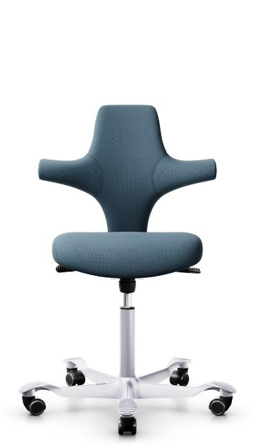 Krzesło HAG Capisco - Producent: Flokk, Dystrybutor: Vipservice. Ergonomiczne, designerskie krzesło do biur