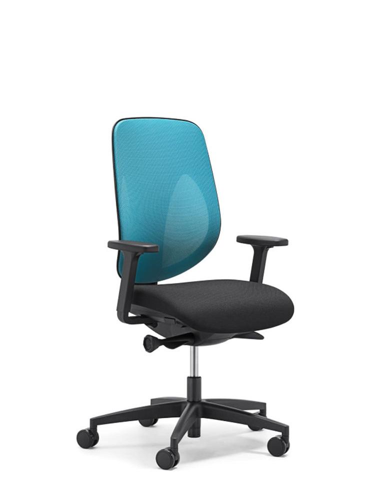Krzesło Giroflex 353 - Producent: Flokk, Dystrybutor: Vipservice. Ergonomiczne i zaawansowane krzesło do biura