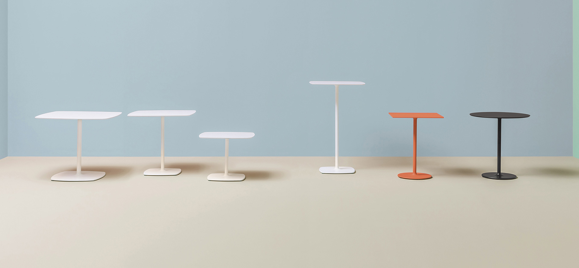 Stolik Stylus - Producent: Pedrali, Dystrybutor: Vipservice - stoliki, podstawy stolików