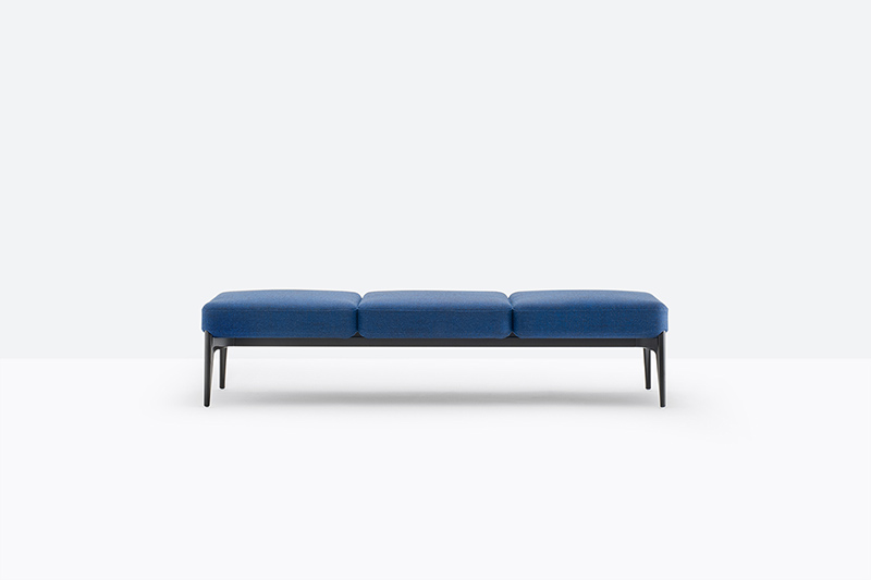 Social kolekcja sof i puf modułowych, Producent: Pedrali, Dystrybutor: Vipservice - sofy i pufy do biur, stref recepcyjnych, stref lounge, stref chillout i hoteli