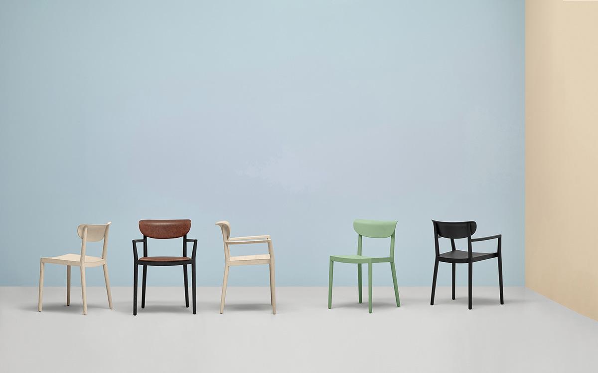 Krzesło Tivoli; Producent: Pedrali; Dystrybutor: Vipservice - krzesła do biur, restauracji, coffee point, hoteli