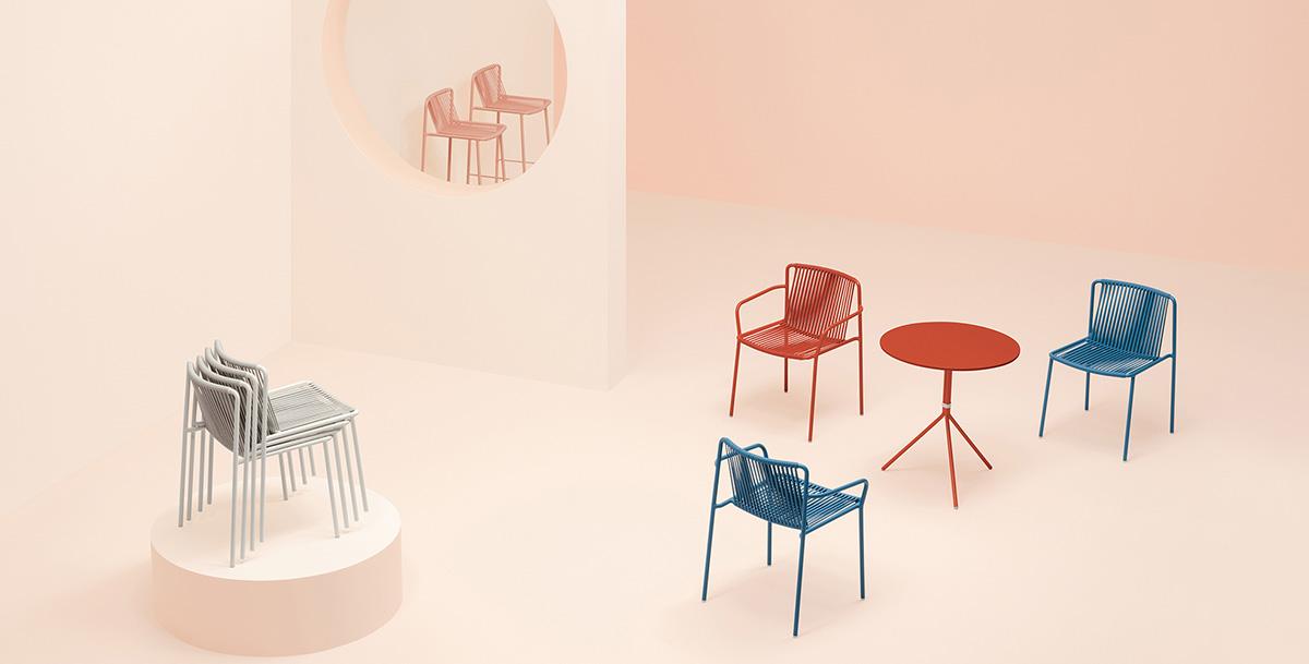 Krzesła Tribeca - fotele Tribeca. Producent: Pedrali; Dystrybutor: Vipservice
