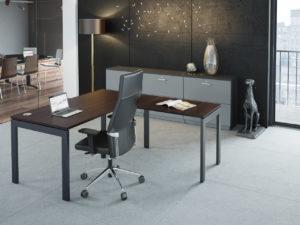 Biurko Nomo - Producent: Wuteh, Dystrybutor: Vipservice, wszechstronne biurko pracownicze i gabinetowe